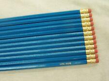 "12 Hexagon ""Dark Turquoise"" Personalized Pencils"