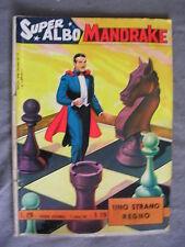 SUPER ALBO MANDRAKE # 120 - 17 GENNAIO 1965 - EDIZIONE SPADA - THE MAGICIAN