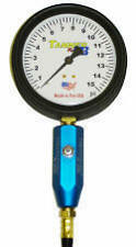 "Tanner Racing 60 PSI Monster 4"" Tire Gauge"