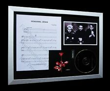 DEPECHE MODE Personal Jesus LTD Nod CD FRAMED DISPLAY!!