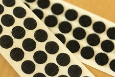 200 x 13mm Self Adhesive WHITE Coin Discs Dots 100 Hook /& 100 Loop
