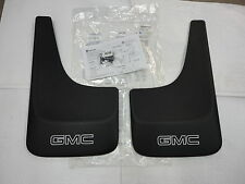 2001-2014 GMC Sierra Yukon Front or Rear Contoured Mud Flaps GMC Logo new OEM