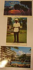 Nassau Bahamas --   Postcards---1970's     three vintage postcards