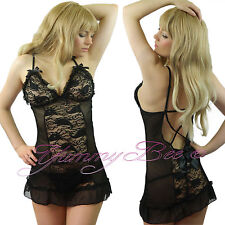 Lingerie Nightwear Babydoll Dress Womens Plus Size 8-30 Sleepwear Underwear 28