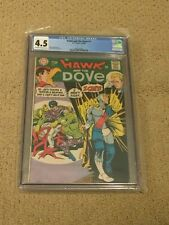 Hawk and Dove 1 CGC 4.5 OW/White Pages (1st Issue from 1968!!)