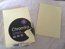Chromika Coloured Card A4 160gm - Copier, Inkjet/Laser, Fax - Missing Sheets