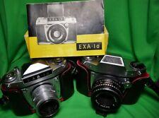 Konvolut 2x Spiegelreflexkameras EXA 500/EXA 1a