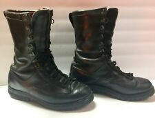 Danner 69110 Mens Size 7.5 D Gore-Tex Black Leather Military FT Lewis Boots