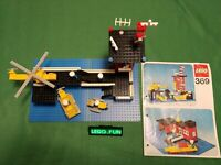 LEGO® 369 Küstenwache +OBA 1976 / coast guard station +instr (legoland) RAR