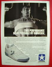 1986 Converse Shoes / Vitalis Men's Haircare - The Neat Look. Color AD