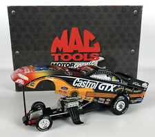 John Force Castrol/Elvis 1998 Mustang Funny Car Limited MAC Tools Action Diecast