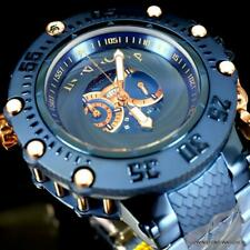 Invicta Subaqua Noma VII Shutter Swiss Rose Gold Steel Blue MOP Watch 52mm New