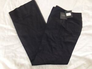 NWT Robert Rodriguez black linen/cotton dress pants