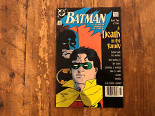BATMAN #427  A DEATH IN THE FAMILY #2 1988 DC COMICS Combine Shipping !