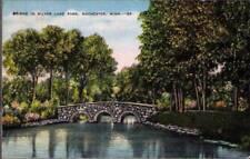 (sdu) Rochester MN: Bridge in Silver Lake Park