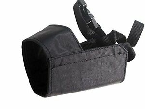 Quick Fit Dog Grooming Muzzle, with Adjustable Straps, black nylon, see sizes