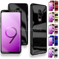 COVER per Samsung S7 S8 S9 /Plus Fronte Retro 360° PROTEZIONE Totale Mirror Case