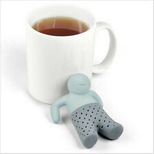 Cute Silicone Mr Tea Infuser Herbal Spice Filter Diffuser Tea Leaf Strainer