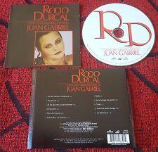 ROCIO DURCAL **Canta Once Grandes Exitos De Juan Gabriel** CD 2001 VERY RARE