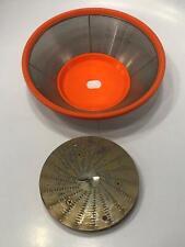 Jack Lalanne Power Juicer Replacement Part CL-003AP Filter Basket Orange Color