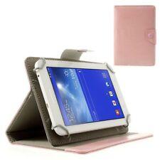 "Flip Case/Tablet-Tasche - Universal 7"" Zoll - Pink (Rosa) Schutz-Hülle"