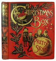 1892 VICTORIAN CHRISTMAS BOOK ANTIQUE CHILDREN DOLLS DOGS CATS MCLOUGHLIN BROS.