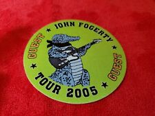 VINTAGE JOHN FOGERTY TOUR 2005 GUEST BACKSTAGE PASS GREEN