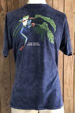 South Carolina Wildlife Federation Men's 2XL Tshirt Vintage 90's Harlequin Frog