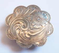 Coulant passant bouton Diablo plaqué argent Bijou Sterling silver overlay