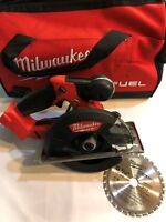 Milwaukee 2782-20 M18 Metal Cutting 5 3/8 Circular Saw with Bag and Blade NEW