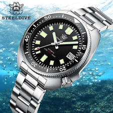 STEELDIVE NH35 Automatic Men Watch 200m Diver Mechanical Watch Sapphire Crystal