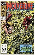 1)WOLVERINE Vol.2 #22(3/90)ROUGHHOUSE/SPORE(X-MEN)GOODWIN/BYRNE(CGC WORTHY)9.6!!