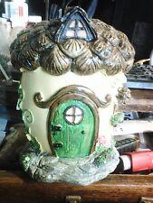 Acorn Fairy House Mold Latex for Concrete , Plaster even wax
