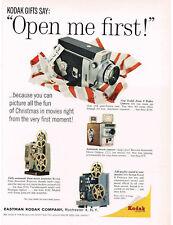 1960 KODAK Zoom 8 Reflex Camera 8mm Projectors VTG Print Ad