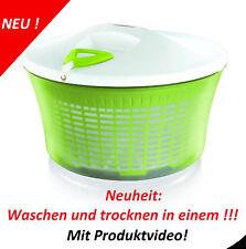 Salatwaschmaschine mit Seilzug, Salatschleuder,waschen und Trocknen all in one!!