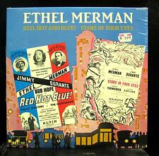 ETHEL MERMAN red, hot and blue! / stars in your eyes LP Sealed AEI 1147 Vinyl