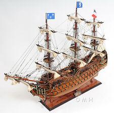 """Royal Louis 37"""" Wooden Exclusive Edition Museum Quality Tall Ship Model 1700's"""