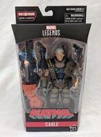 Marvel Legends Cable Deadpool Sasquatch Wave Build-A-Figure - New Complete