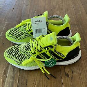 New Adidas Ultraboost 1.0 Solar Yellow Shoes Men's 7 (2019) - EH1100 Women's 8.5