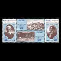 Palau 1983 - Anniv. of Captain Henry Wilson's Voyage to Palau - Sc 40a/h MNH