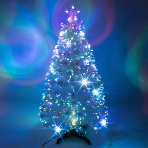 Artificial Christmas Tree White Indoor Xmas Decoration Star 2ft 3ft 5ft 6ft 4ft
