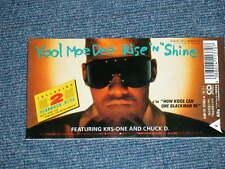 "KOOL MOE DEE Japan 1991 Tall 3"" CD Single GET BUSY"