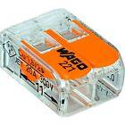 WAGO 221-412 LEVER-NUTS 2 Conductor Compact Connectors 25 pcs