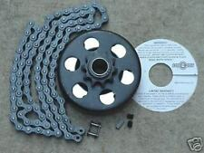 "Minibike Parts Go Kart 3/4"" Bore Clutch & 3ft #40 Chain"