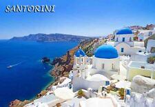 SANTORINI GREECE TRAVEL SOUVENIR FRIDGE MAGNET #fm259