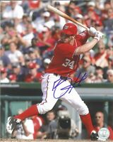 Bryce Harper 8x10 REPRINT Signed Photo Autographed Phillies