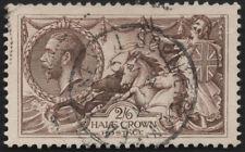 SG414 2/6 Half Crown Seahorse.Sound used example. E2345