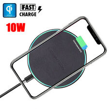 Qi Wireless Charger For Samsung Galaxy Note 10 /10+ Desktop Fast Charging Pad