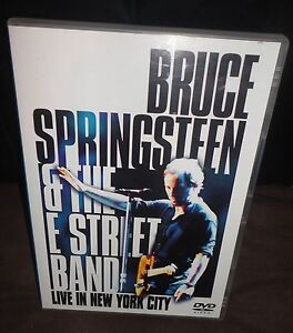 Bruce Springsteen & The E Street Band - Live In New York City (DVD, 2001)