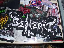 Beherit Patch Shape Back Patch Black Metal Barathrum Mayhem
